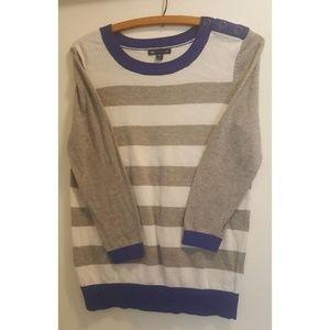 GAP   Striped Crew Neck Sweater